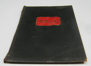 Sociedad Medica Valparaiso Libro Tesoreria Años 1913 A 1936