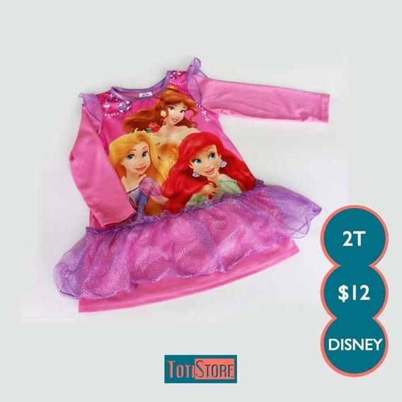 Top Marca Disney Princesas Talla 2t Niña