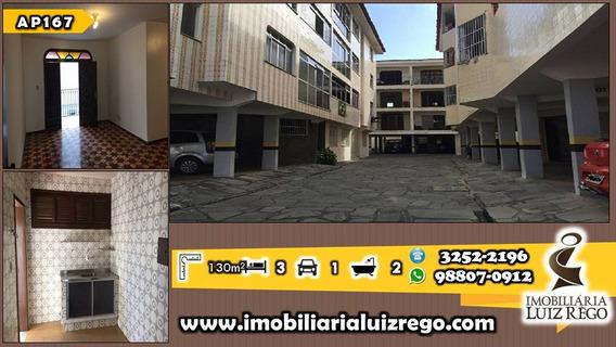 Ap167-aluga Apartamento No Joaquim Távora, 3 Quartos(1 Suíte