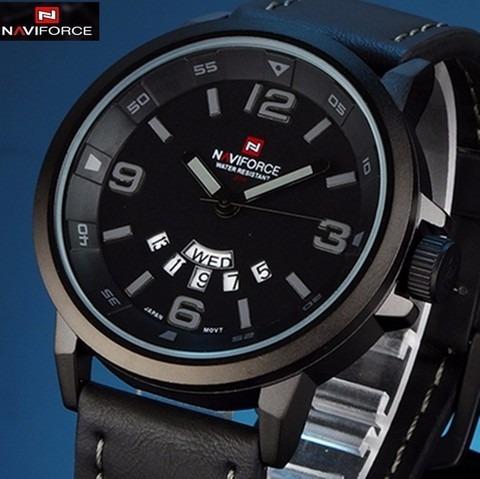 Relógio Masculino Militar Naviforce Modelo 9028 Original