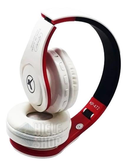 Headphone Fone De Ouvido Bluetooth Super Bass Sd Fm Original