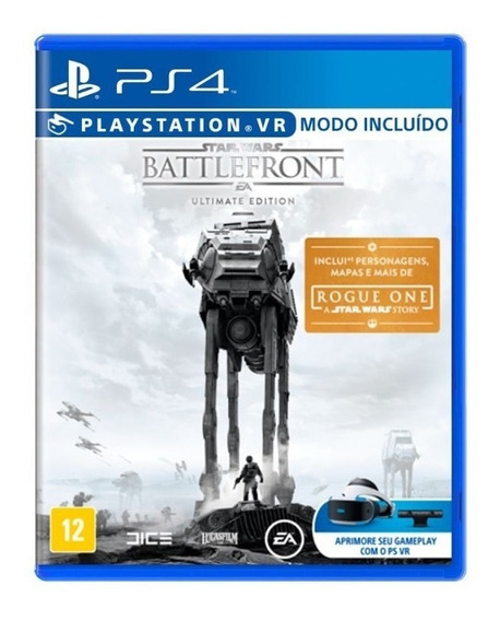 Star Wars Battlefront Ultimate Edition - Ps4 - Novo - Fisica