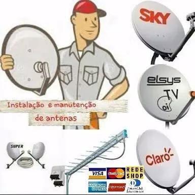 Antenisto Todos Satelite Somente Rio