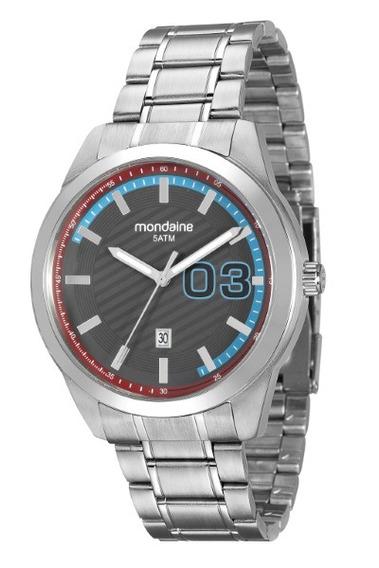 Relógio Mondaine Masculino Aço 34651