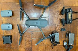 Drone Dji Mavic Pro Fly More Kit Travel Bundle Extra 3 Bat ®