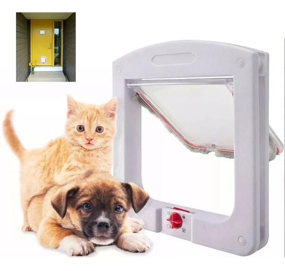 Porta Portinha De Passagem P/ Gato Cachorro 4 Em 1 Pet Cat