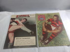 Revistas Esporte Ilustrado Flamengo Anos 1950 Usadas