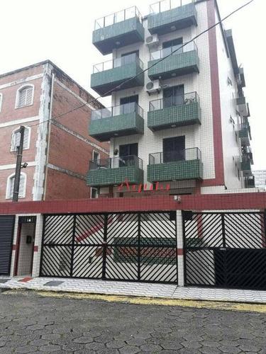 Apartamento Com 1 Dormitório À Venda, 46 M² Por R$ 190.000,00 - Aviação - Praia Grande/sp - Ap0931