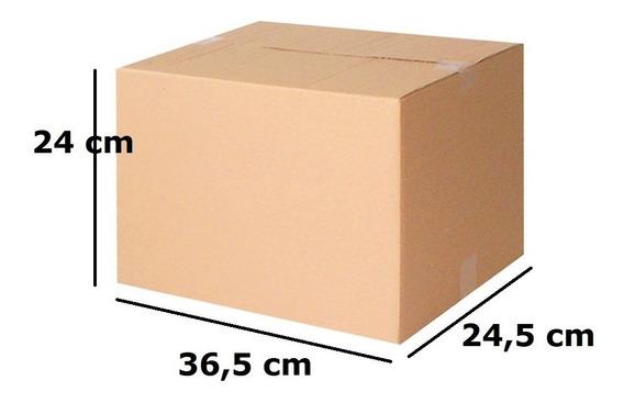 Caixa Papelão Transportadora Correios 24x36,5x24,5 C/100unid