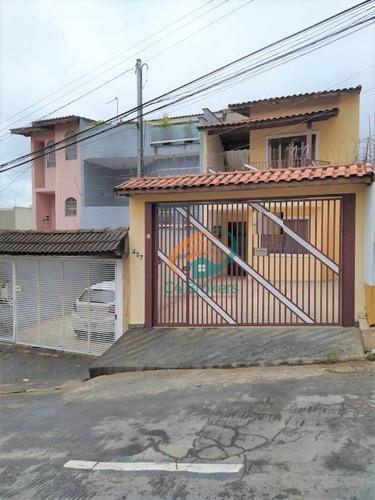 Sobrado À Venda, 101 M² Por R$ 499.800,00 - Vila Silveira - Guarulhos/sp - So0715