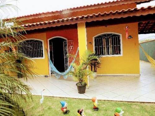 Linda Casa Perto Da Praia De Itanhaém 3 Quartos