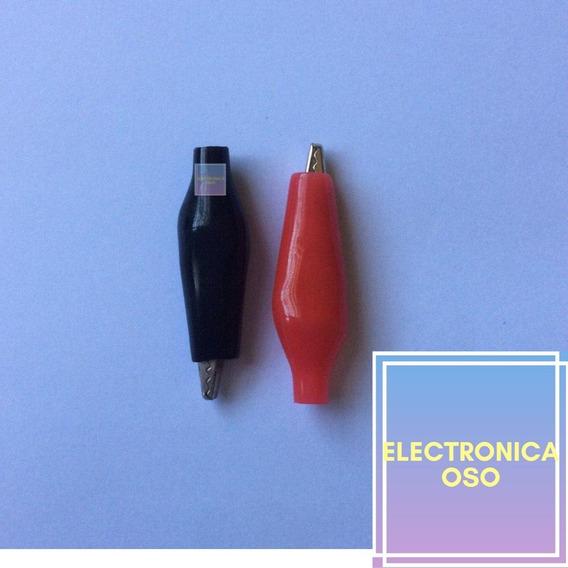 Caimanes (pinza) Uso Electrónico, 1 Manzana El Par