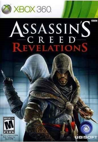 Jogo Assassins Creed Revelations Xbox 360