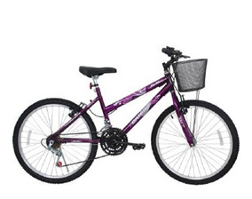 Bicicleta Feminina Aro 24 21 Marchas Bella - 310915