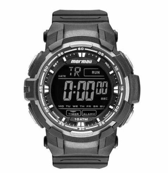 Relógio Mormaii Masculino Preto Mo8121aa/8c