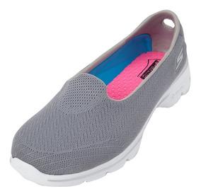 Sapatilha Fem. Skechers Go Walk 3 Vários Modelos Confortável