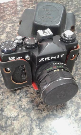 Máquina Fotográfica Zenit 58mm 1:2 M52x0,75 Com Capa