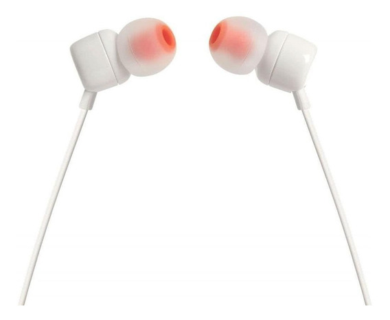 Fone de ouvido JBL 110 white