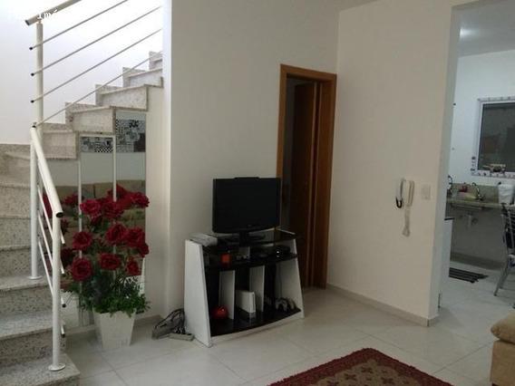 Casa Em Condomínio Para Venda Em Mogi Das Cruzes, Vila Suíssa, 2 Dormitórios, 3 Banheiros, 1 Vaga - 239