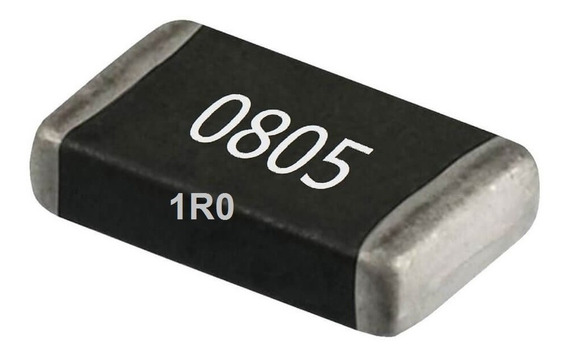 Resistores Smd 0805 1/8w 5% Pacote 10 Unidades
