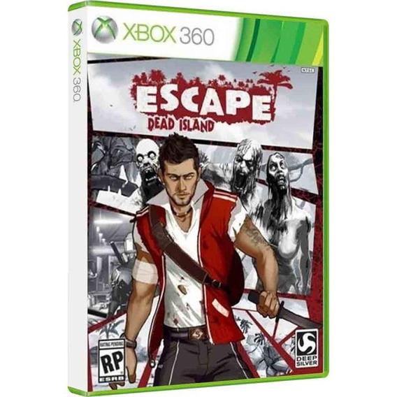 Escape Dead Island - Midia Fisica Original Lacrado Xbox 360
