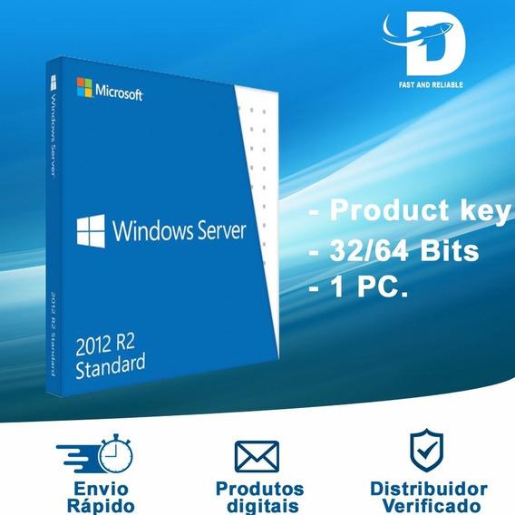 Licença De Ativação Windows Server 2012 R2 Standard
