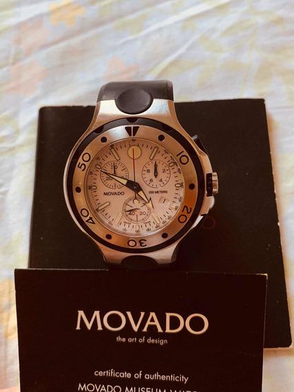 Relógio Movado Chronografo Série 800 Tamanho 47mm Suíço