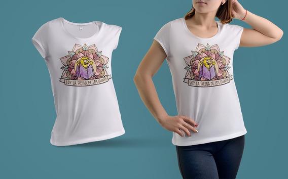 Remera De Mujer Los Simpson Reina De Los Lagartos