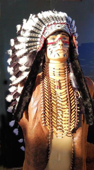 Cocar Indígena Ceremonial Xamanismo