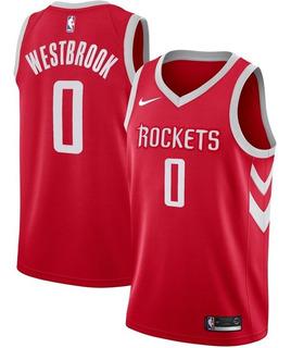 Camisa Houston Rockets - Nba - Harden 13 , Westbrook 0