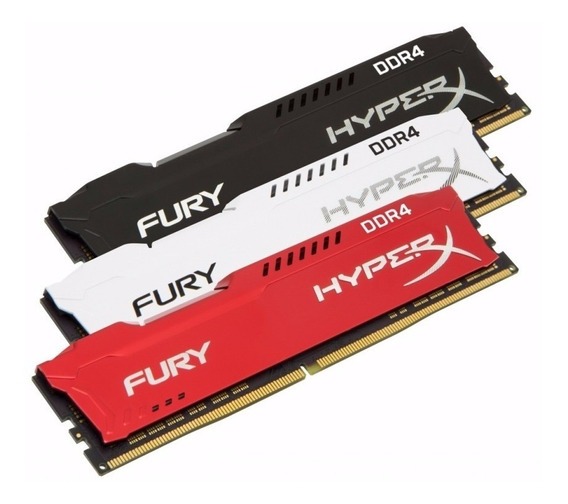 Memória 8gb 2400mhz Ddr4 Kingston Hyperx Fury Gamer Oficial