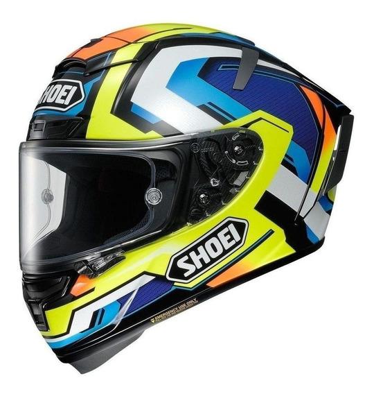 Capacete para moto integral Shoei X-Spirit III brink tc-10 tamanho S