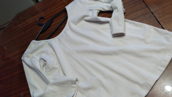 Remera Cuesta Blanca T Medium Blanca