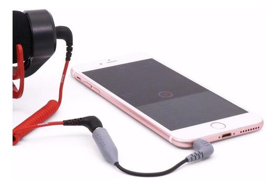 Adaptador Para Smatphone Camera Microfone (p2)