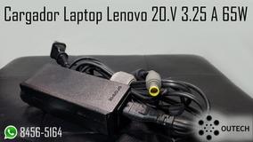 Cargador Laptop Lenovo 20.v 3.25 A 65w
