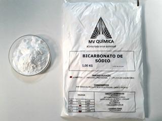 Bicarbonato De Sódio Mv Química 5und X 1kg = 5kg