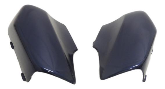 Cobertura Garfo (protetor Bengala) C100 Biz 2000 (azul)