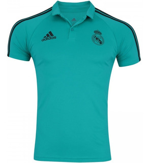 Camisa Polo Real Madrid Viagem 17/18 adidas Masculina