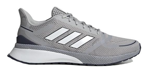 Zapatillas adidas Nova Fvse Run Hombre Gri/tin