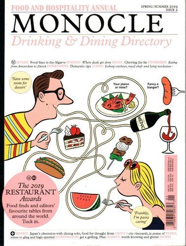 Imagem 1 de 1 de Monocle Revista Compacta - Drinking & Dining Directory