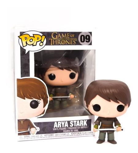 Funko Pop Games Of Thrones Arya Stark 09 Nuevo Original