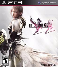 Jogo Final Fantasy Xiii-2 Ps3 Mídia Física Frete Grátis Rpg