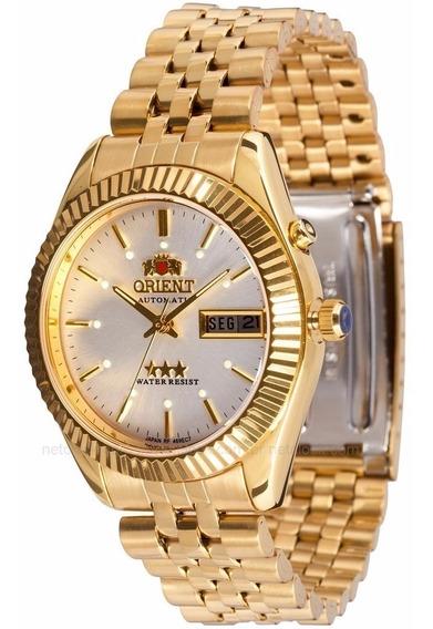 Relógio Masculino Orient Automático 469ec7 B1kx= 56