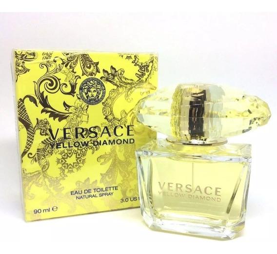 Versace Yellow Diamond Feminino Eau De Toilette 90ml