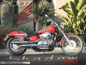 Honda Shadow 750cc. Modelo Spirit, Special Edition
