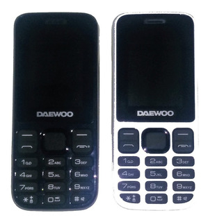 Telefono Celular Basico Gsm Daewoo Zircon Smd 1.8 Dual Sim