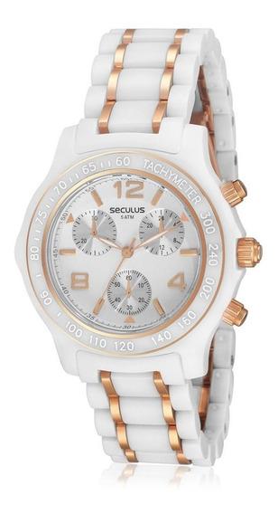 Relógio Masculino Seculus Analógico 20004lpsggq1 Acetato