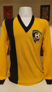 Camisa Futebol Deportivo Tachira 1980 Mangas Longas