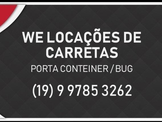 Locação De Carretas Porta Conteiner / Bug