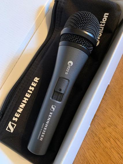 Microfone Sennheiser E822 S Dinamico Novo
